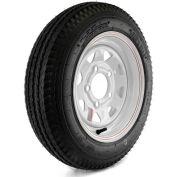 Martin Wheel Kenda Loadstar Trailer Tire and 5-Hole Custom Spoke Wheel DM412C-5C-I - 480-12 - LRC
