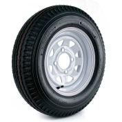 Martin Wheel Kenda Loadstar Trailer Tire and 4-Hole Custom Spoke Wheel (4/4) DM452C-4C-I - 530-12