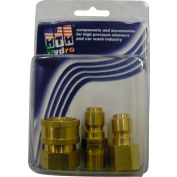 "MTM Hydro 4200 psi 3/8"" Brass Quick Coupler and Plug Pack"