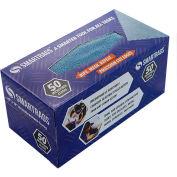 "SmartRags™ Microfiber Cleaning Cloths, 12"" x 12"", Blue, 50 Rags/Box - M950B"