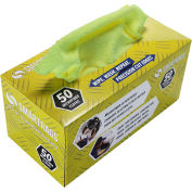 """SmartRags™ Microfiber Cleaning Cloths, 12"""" x 12"""", Yellow, 50 Rags/Box - M950Y"""