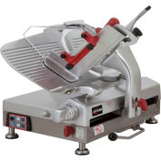Axis AX-S13GA - Meat Slicer, 13'' Blade, Automatic, Gear-Driven, Noiseless Operation, 120V