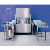 """Jet-Tech FX-44 - Conveyor Type Dishwasher, With Built-In Booster, 44"""" Tank"""