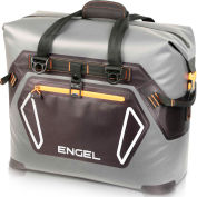 Engel®  ENGTPU-ORANGE, Outdoor Cooler Bag, 32 Qt., Gray/Orange , TPU Coated Nylon