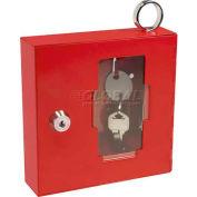 """Bouton urgence Barska sécables Box avec marteau attaché un Style, 6"""" W x 1-5/8"""" D x 6 """"H"""