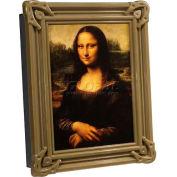 """Barska Wall Mount Picture Frame Diversion Safe CB11800 w/Como Lock 7-1/16""""Wx2-9/16""""Dx9-1/16""""H Black"""