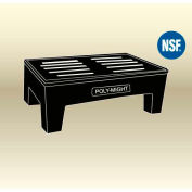 "MasonWays™ 362212 HD PolyMight Dunnage Rack 36""W x 22""D x 12""H,1200 Lbs. Capacity"