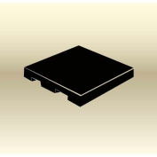 "MasonWays™ 50506 SF Display Base Pallet Spot Merchandiser 50""W x 50""D x 6""H Black"
