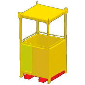 """M&W 48"""" x 94"""" Personnel Basket - 2000 Lb. Capacity"""