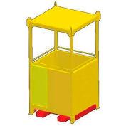"""M&W 34"""" x 40"""" Personnel Basket - 500 Lb. Capacity"""