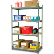 "Metalware Wide-Span Boltless Shelving - 18"" x 48"" x 72"" - Starter Unit"