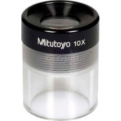 Mitutoyo 183-302 Pocket Comparator 10X Clear Loupe