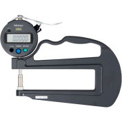 "Mitutoyo 547-520S 0-.47"" / 0-12MM Digimatic Deep Throat Digital Thickness Gage (.0005 Resolution)"