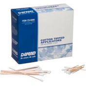 "Defend® Non-Sterile Cotton Tipped Applicators, 6""L Dowel, 1000/Box"