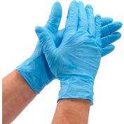 Defend® Medical/Exam Textured Nitrile Gloves, Powder-Free, Blue, L, 100/Box, NG-2005