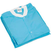 """Disposable Lab Coats - L, 39""""L, 10/Pack"""
