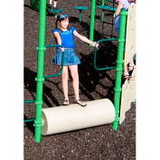 Log Roll In Tan/Green/Light Green Combination, For Ages 5 To 12