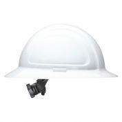 Honeywell North® Hard Hat, Full Brim, Ratchet Suspension, White