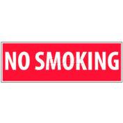 """NMC M11P No Smoking Area signe, non fumeur, 4 """"X 12"""", blanc/rouge"""