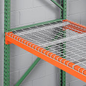 """Global Industrial™ Wire Mesh Decking, 46""""W x 48""""D x 1-1/2""""H, 3100 Lb. Capacity"""