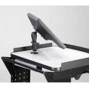 """Écran plat support (15mm), 7"""" bras en systèmes B115 saillie Newcastle"""