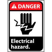 Plastique rigide de danger signe 10 x 7 - danger électrique