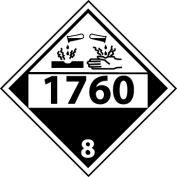 DOT Placard - 1760 8