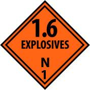 DOT Placard - Explosives N1
