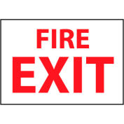 Fire Safety Sign - Fire Exit - Plastic