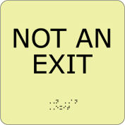 Glow Braille - NOT AN EXIT