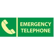 Glow Sign Vinyl - Emergency Telephone