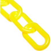 """Plastic Chain - 1-1/2"""" x 100' - Yellow"""
