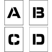 "Individual Character Stencil 8"" - Letter Set A-Z"