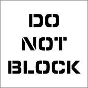 Plant Marking Stencil 20x20 - Do Not Block