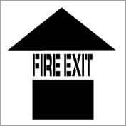 Plant Marking Stencil 20x20 - Fire Exit
