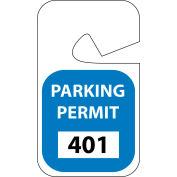 Stationnement permis - bleu Rearview 001-100