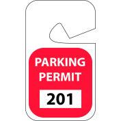 Stationnement permis - rouge Rearview 201 - 300
