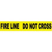 Printed Barricade Tape - Fire Line Do Not Cross