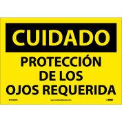 Spanish Vinyl Sign - Cuidado Protección De Los Ojos Requerida