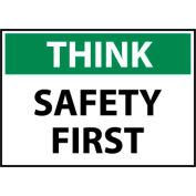 Think Osha 10x14 Vinyl - Safety First