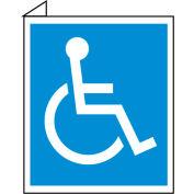 Facility Flange Sign - Handicapped Symbol