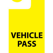 Parking Permit - Vehicle Pass, 5/Pack
