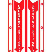 Facility Visi Sign - Emergency Exit Only