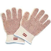 North®Grip-N® Hot Mill Glove, Nitrile N-Pattern , Knit Wrist, 51/7147, 12-Pair