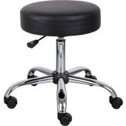 Boss Medical Stool  - Vinyl - Black