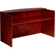 """Boss Reception Desk - 71""""  - Mahogany"""