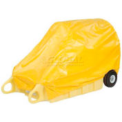 "Enpac HDPE Spill Containment Cover for Poly-Dolly, 71""L x 34""W x 26""H - 5300-TARP"