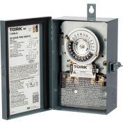 NSI TORK® 1103B-O 24 Hour Time Switch, 40A, 120V, DPST, Indoor/Outdoor Metal Enclosure