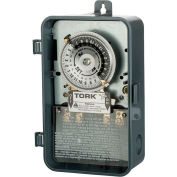 NSI TORK® 1104B-P 24 Hour Time Switch, 40A, 208-277V, DPST, Indoor/Outdoor Plastic Enclosure