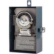 NSI TORK® 1104B-O 24 Hour Time Switch, 40A, 208-277V, DPST,NEMA 3 Indoor/Outdoor Metal Enclosure
